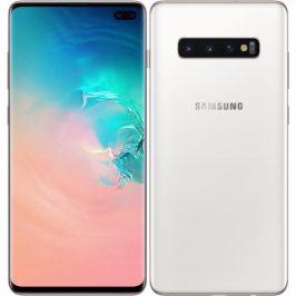 Samsung S10+ 128 GB - ceramic bílá (SM-G975FCWDXEZ)