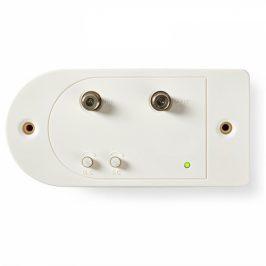 Nedis CATV, Max. zesílení 28 dB, 86–1 006 MHz, 1 Výstup, Zpětný Kanál, Konektor F (SAMP41112WT)