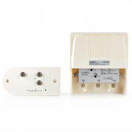 Nedis Sada zesilovače a stožárového držáku, VHF, UHF, Max. zisk 25 dB (SAMP100WT)