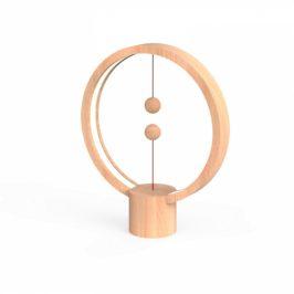 Powercube Heng Balance Round USB - Light Wood (DH0039LW)