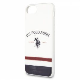 U.S. Polo Tricolore na Apple iPhone 8/SE (2020) (USHCI8PCSTRB)
