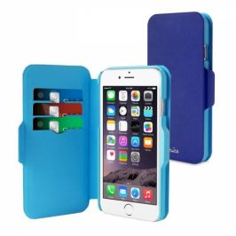 Puro BI-COLOR WALLET na Apple iPhone 6 (P/N: IPC647WALLETBLUE1)