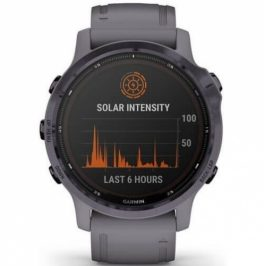 Garmin fenix6S PRO Solar - Amethyst/Shale Band (MAP/Music) (010-02409-92)
