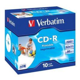 Verbatim CD-R DLP 700MB/80min. 52x, jewel box, 10ks (43325)