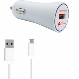 WG 1xUSB, QC 3.0 + USB-C kabel (7086)