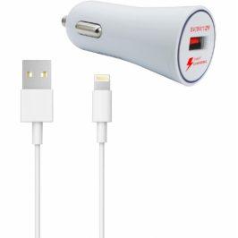 WG 1xUSB, QC 3.0 + Lightning kabel (5130)