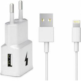 WG 1xUSB, QC 3.0 + Lightning kabel (4791)