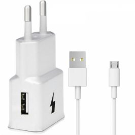 WG 1xUSB, QC 3.0 + Micro USB kabel (4792)