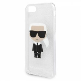 Karl Lagerfeld Glitter Ikonic na Apple iPhone 8/SE (2020) (KLHCI8TPUTRIKSL)