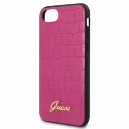 Guess Croco na Apple iPhone 8/SE (2020) (GUHCI8PCUMLCRPI)