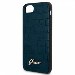 Guess Croco na Apple iPhone 8/SE (2020) (GUHCI8PCUMLCRBL)