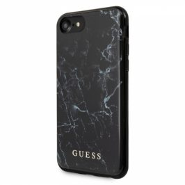 Guess Marble na Apple iPhone 8/SE (2020) (GUHCI8PCUMABK)