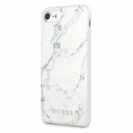 Guess Marble na Apple iPhone 8/SE (2020) (GUHCI8PCUMAWH)