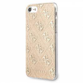 Guess Glitter 4G Solid na Apple iPhone 8/SE (2020) (GUHCI8PCU4GLGO)
