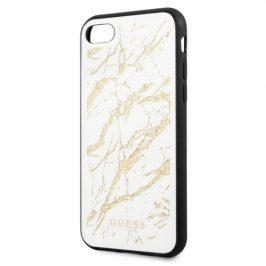 Guess Glitter Marble na Apple iPhone 8/SE (2020) (GUHCI8MGGWH)