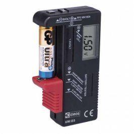 Tester baterii EMOS AA, AAA, C, D, 9V, knoflíkových (UNI D3)