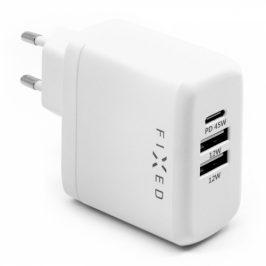 FIXED USB-C PD, 2x USB 2.0, 45W (FIXC45-C2U-WH)