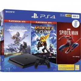 Sony 500 GB + Spiderman + Horizon Zero Dawn + Ratchet & Clank) (PS719391708)