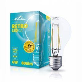 ETA RETRO LEDka klasik, 6W, E27, teplá bílá (ETA789090006)