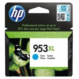HP 953XL 1600 stran - azurová (F6U16AE)