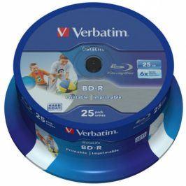 Verbatim BD-R SL 25GB, 6x, 25-cake (43811)