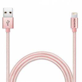 ADATA Sync & Charge USB/Lightning, 1m, MFi, opletený (AMFIAL-100CMK-CRG)