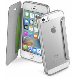 CellularLine Clear Book pro Apple iPhone 5/5s/SE (CLEARBOOKIPH5S)
