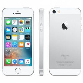 Apple iPhone SE 128 GB - Silver (MP872CS/A)