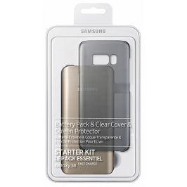 Samsung Clear Cover + Baterry Pack pro Galaxy S8 (EB-WG95ABBEGWW)