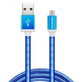 ADATA USB/micro USB, 1m, pletený (AMUCAL-100CMK-CBL)