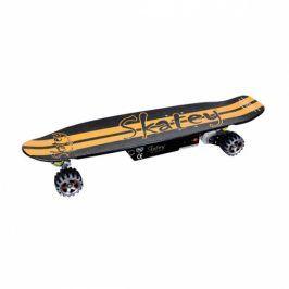 Longboard elektrický Skatey 400 - černý/oranžový