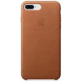 Apple Leather Case pro iPhone 8 Plus / 7 Plus - sedlově hnědý (MQHK2ZM/A)