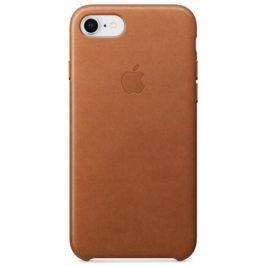 Apple Leather Case pro iPhone 8/7 - sedlově hnědý (MQH72ZM/A)