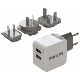 Philips DLP2220, 2x USB, 3,1A (Phil-DLP2220/10)