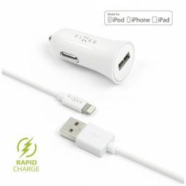 FIXED 1x USB, 2,4A + Lightning kabel (FIXCC-UL-WH)