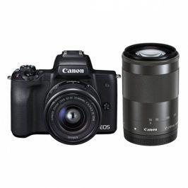 Canon M50 + EF-M15-45 + EF-M55-200 (2680C022)