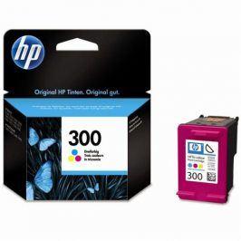 HP No. 300, 4 ml, 165 stran, CMY - originální (CC643EE)