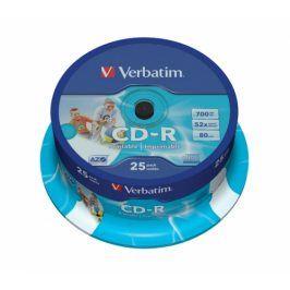 Verbatim CD-R DLP 700MB/80min, 52x, 25-cake (43439)