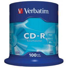 Verbatim CD-R DL 700MB/80min, 52x, 100-cake (43411)