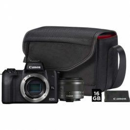 Canon M50 + M 15-45 IS STM + SB130 + 16 GB karta (2680C064)