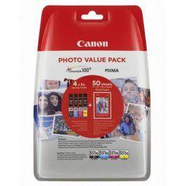 Canon CLI-551 XL Photo Value Pack, CMYK (6443B006)