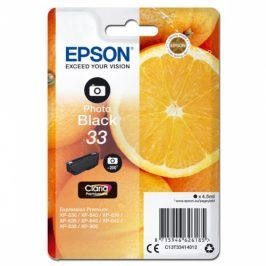 Epson Claria Premium T33 - foto černá (C13T33414012)