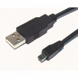 AQ Mini USB 8pin - USB 2.0 A kabel, M/M, 1,8 m (xaqcc65018)