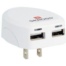 SKROSS pro USA, 2100mA, 2x USB výstup (DC10USA)