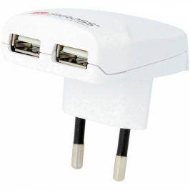 SKROSS pro použití v Evropě pro 2 USB (DC10)