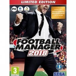 PC Football Manager 2018 Limitovaná Edice (PC HRA)