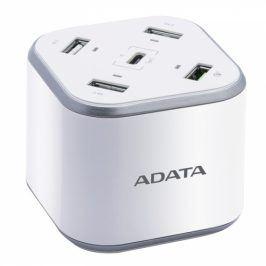 ADATA USB Charging Station, 4x USB, 1x USB-C (ACU0480QCPS-CEUWH)