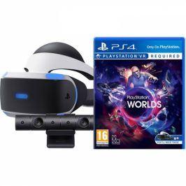 Sony + kamera + VR Worlds (PSN voucher) (PS719782612)