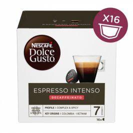 NESCAFÉ Espresso Intenso Decaffeinato kávové kapsle 16 ks