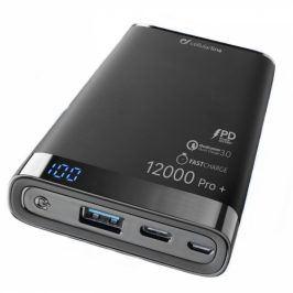 CellularLine Freepower Manta Pro+ 12000mAh, QC 3.0, USB-C (FREEPMANTA12QCCPDK)